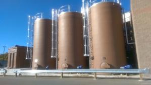 Feedstock tanks